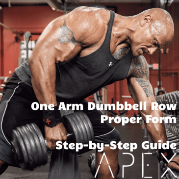 One Arm Dumbbell Row – How To Do It